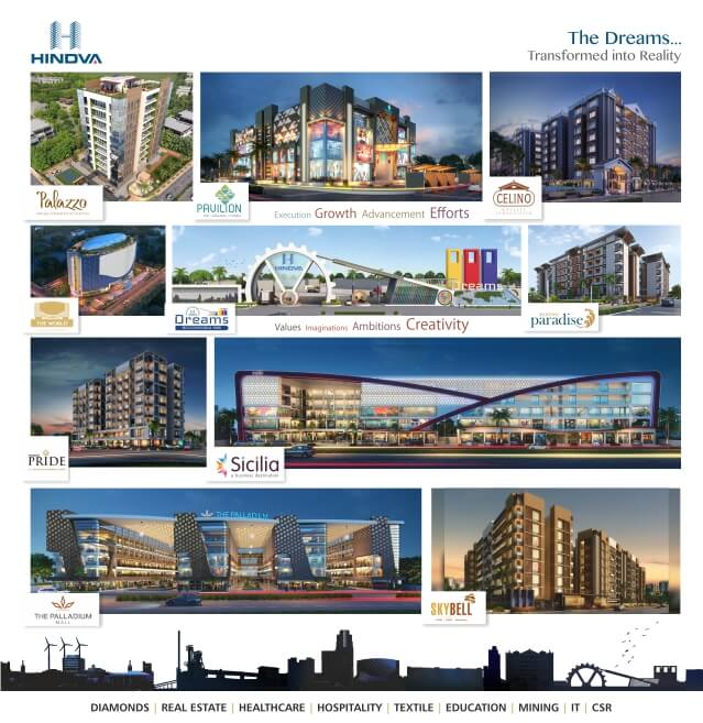 Investors of The World - 5 Star Hotel Apartment By Hindva Builders | Surat - Gujarat